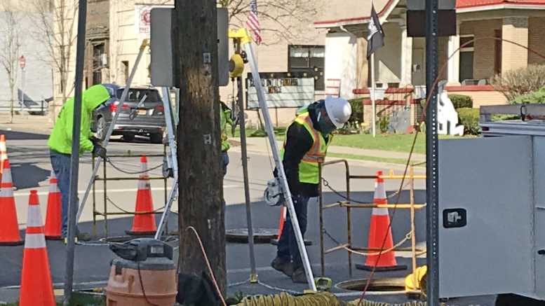 Fiber Optic Cable installed in Owego