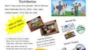 Tioga County to host free food box distribution