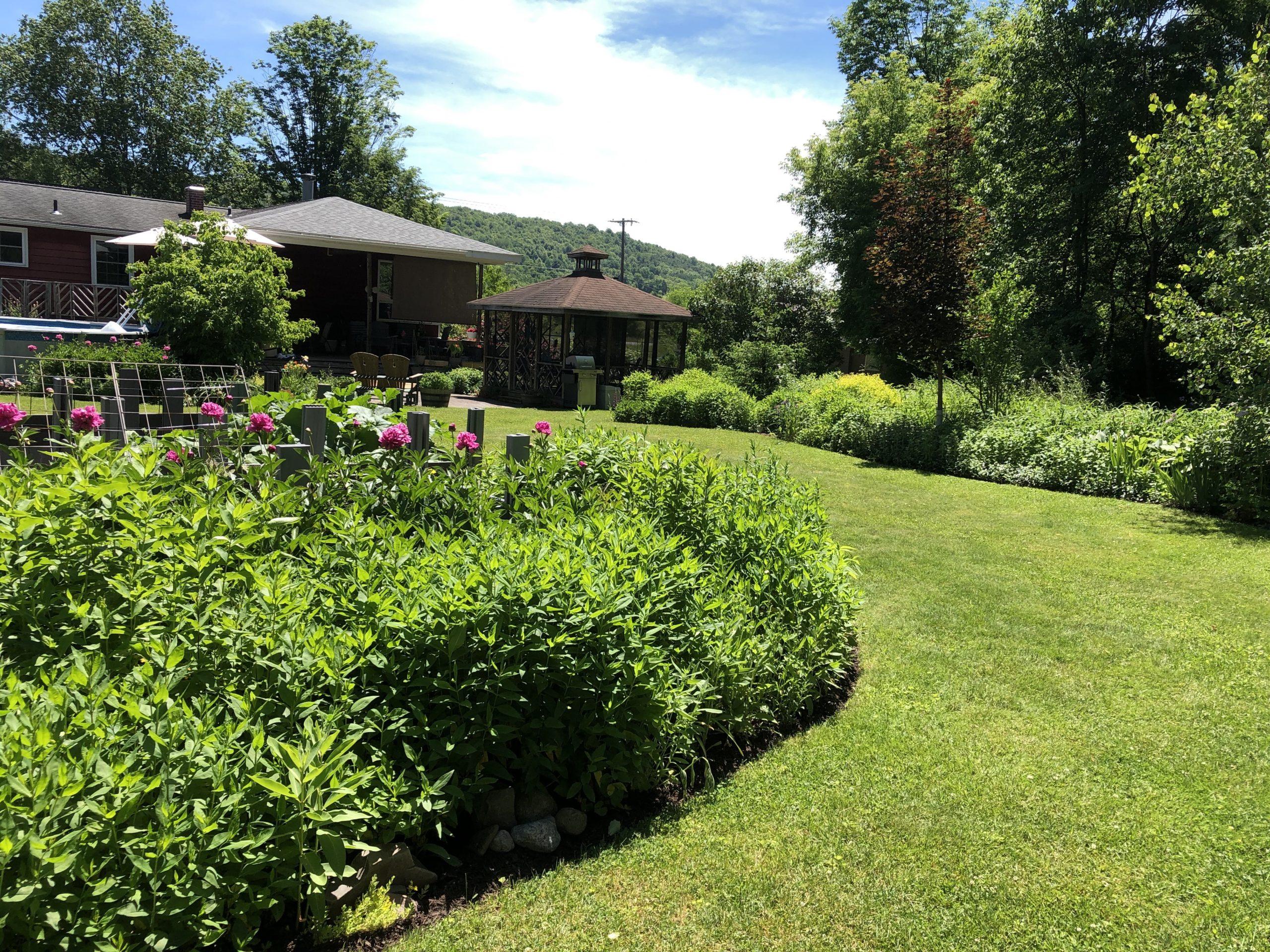 Take a local garden tour drive!