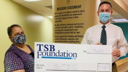 Tioga State Bank's TSB Foundation donates to Southern Tier Independence Center