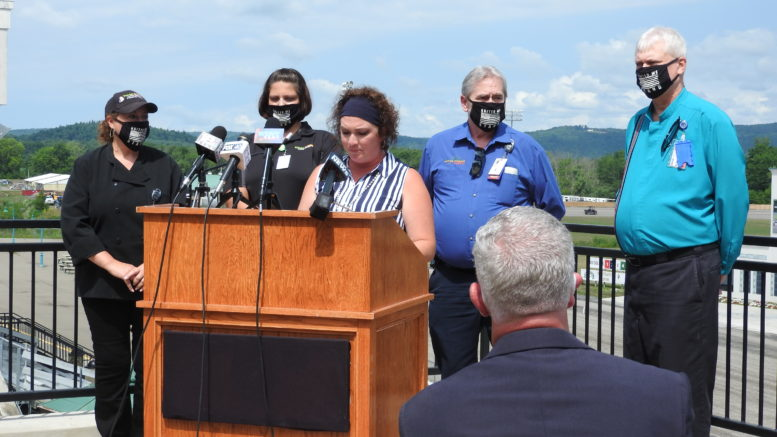 Local officials rally around Tioga Downs