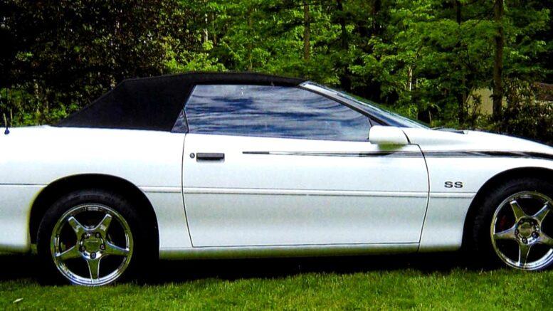 Collector Car Corner - Rare 1996 SLP Camaro shares both Z28 and SS identification