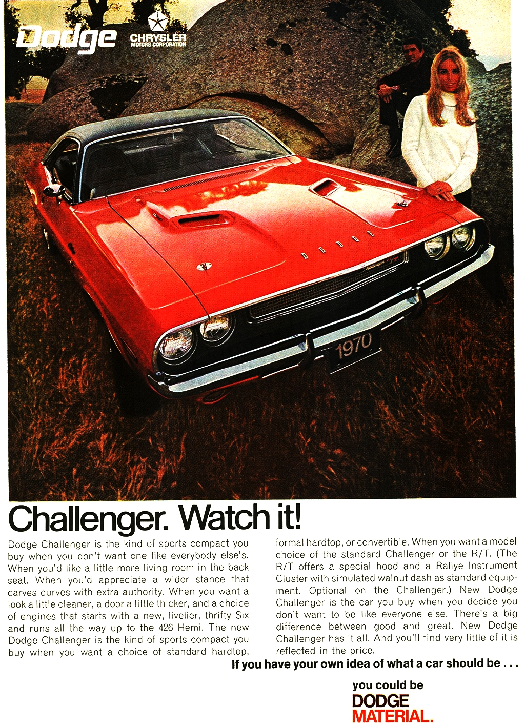 Collector Car Corner - 1970-1974 Dodge Challengers are the rarest of pony cars