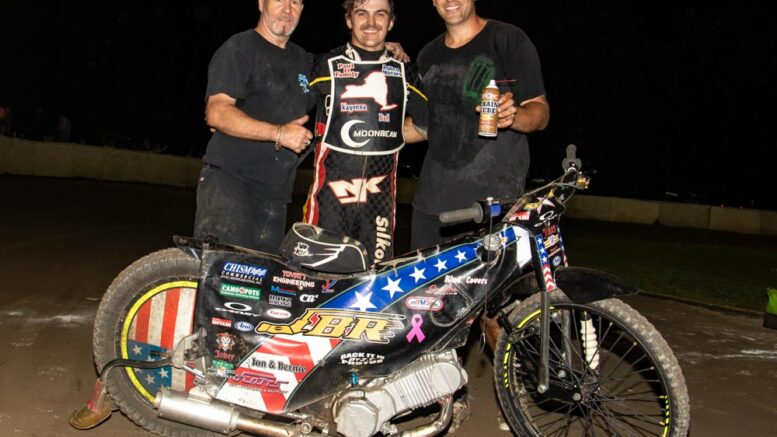 Portararo brings the house down at Champion Speedway