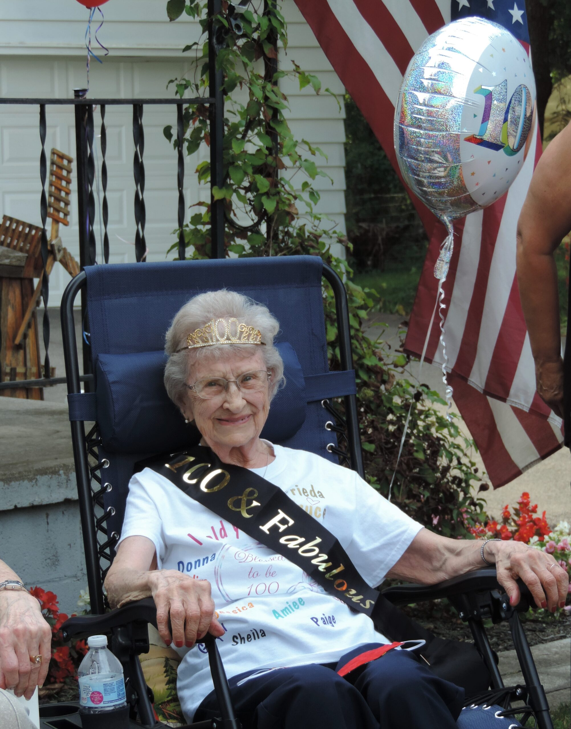 It's not every day you turn 100