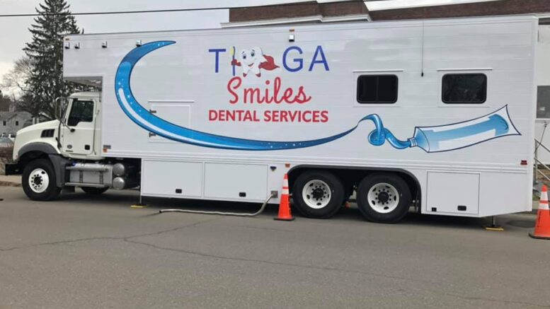 Tioga Smiles Mobile Dental Van is reopening