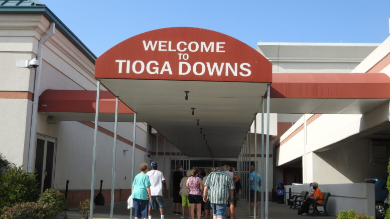 Tioga Downs officially opens