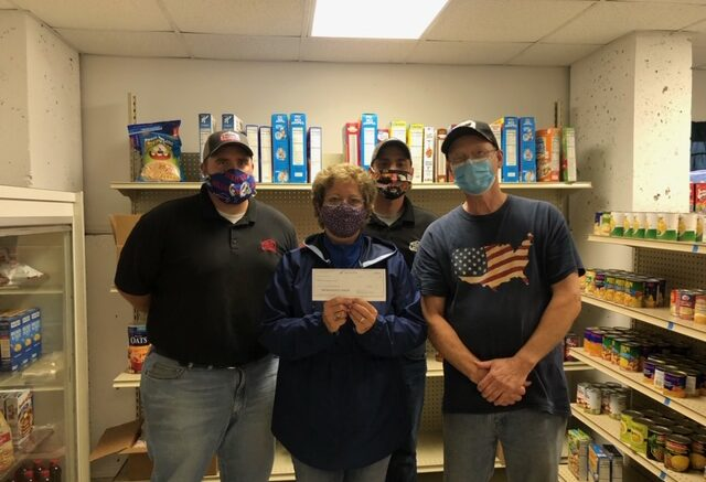 Park Terrace Food Pantry receives donation