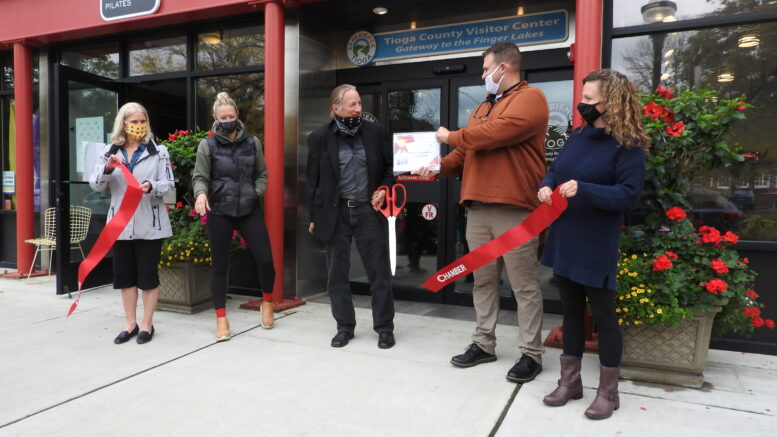 Two new businesses welcomed in Owego
