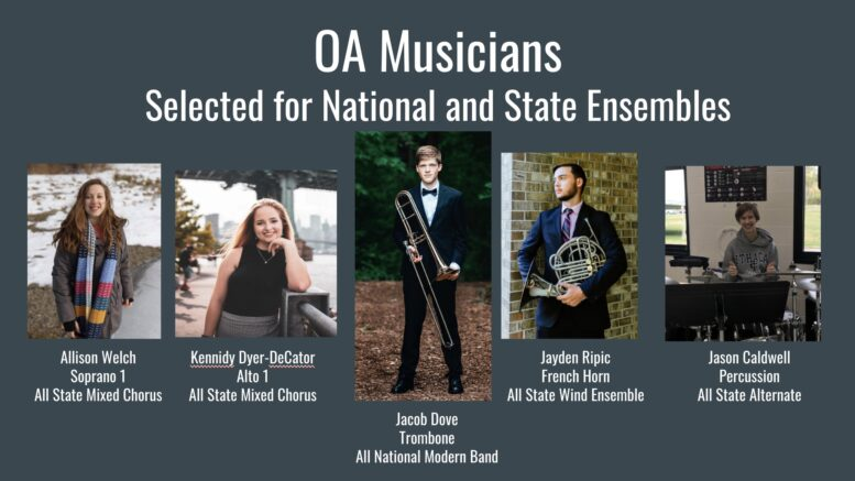 Local music students accepted into All State and All National