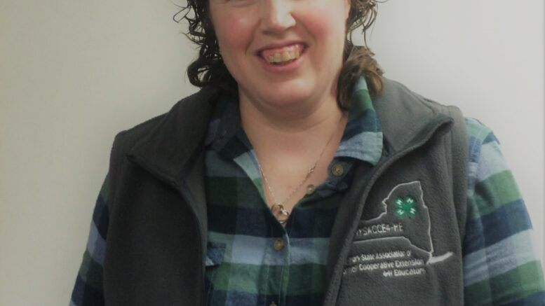 CCE's Melissa Watkins concludes year as President of the New York State 4-H Educators Association