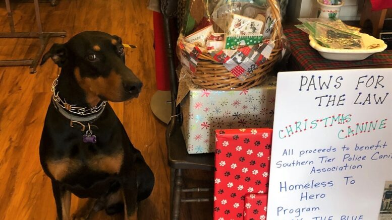 Raffle to benefit Southern Tier Police Canine Association