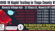 COVID-19 Rapid Testing Site available this week in Waverly