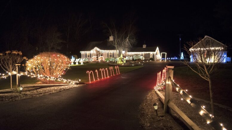Photos from 'Light Up Tioga: Driving Tour and Contest'