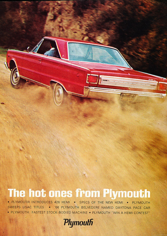 Collector Car Corner - Plymouth: Gone but never forgotten