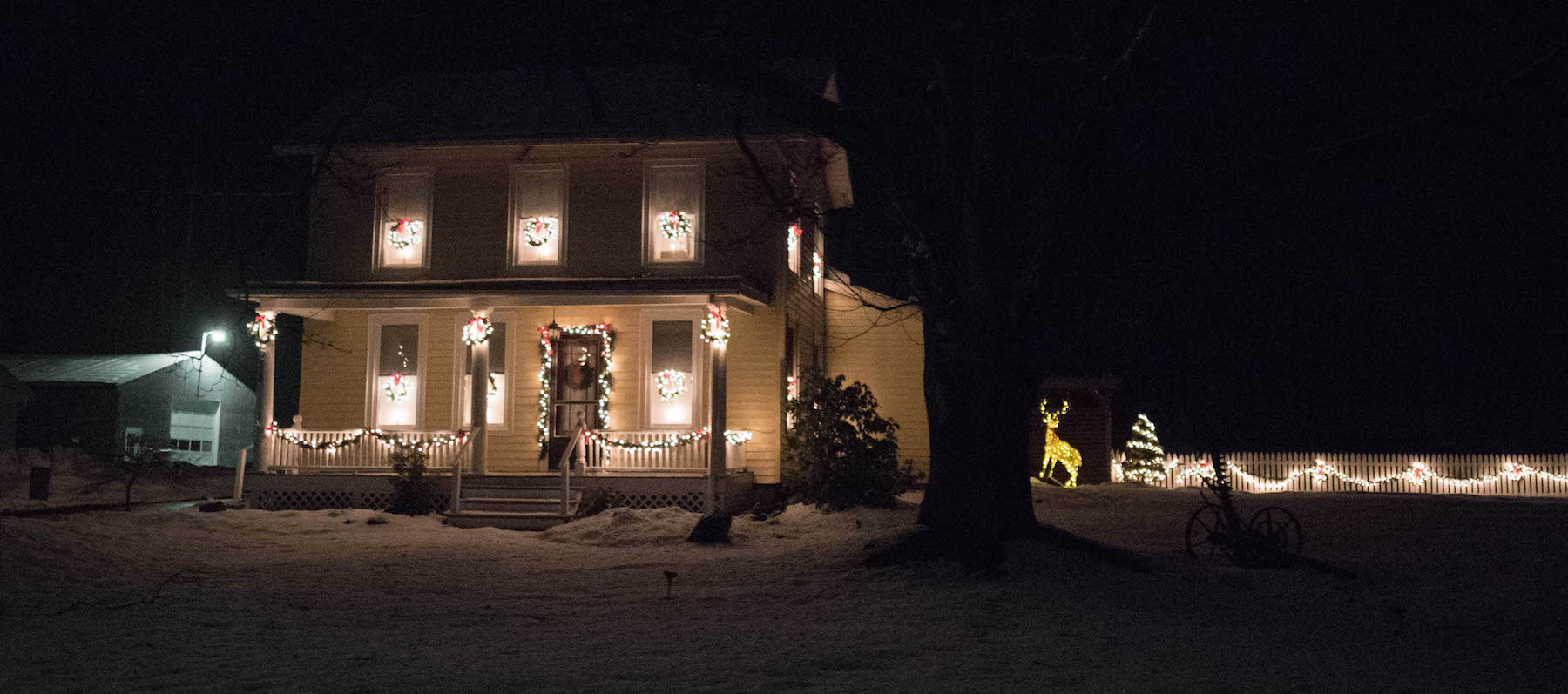 Tioga County Tourism announces winners in the 'Light Up Tioga Driving Tour andContest'
