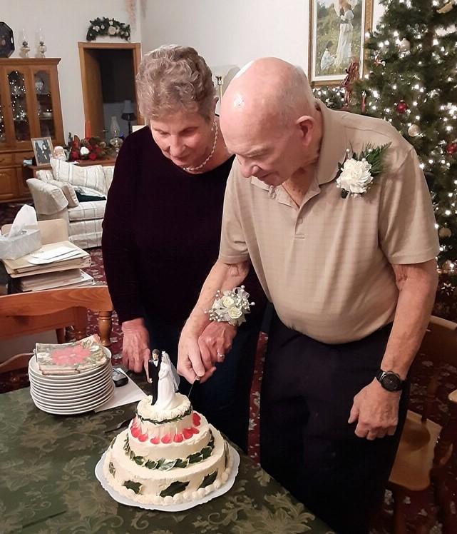 Candor couple celebrates platinum anniversary