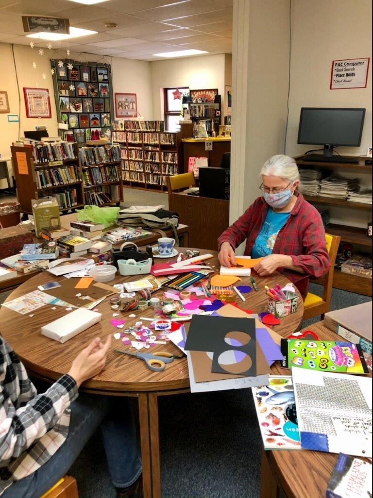 Candor Library celebrates love all month long