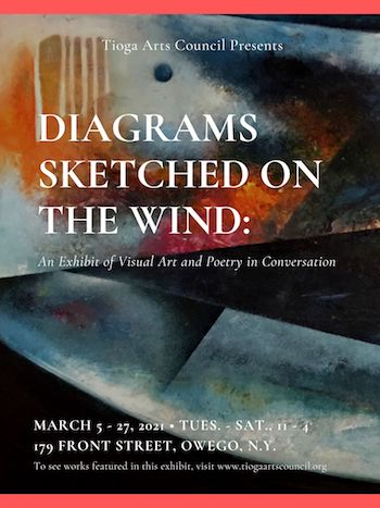 Diagrams Sketched on the Wind: An Exhibit of Visual Art and Poetry in Conversation