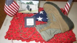 VFW Auxiliary 1371 wins inspirational poppy display