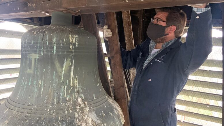 Historic Owego Fire Bell to be removed Monday