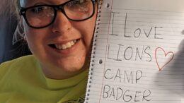 Lions Camp Badger thinks outside the box with 'Camp in a Box'