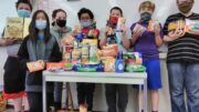 Ross Corners Christian Academy donates to The Open Door Mission in Owego