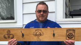 Resident's craft honors veterans
