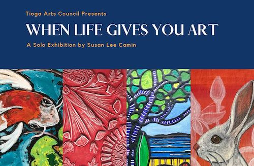 'When Life Gives You Art' - A solo exhibition by Susan Lee Camin