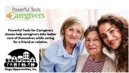 Tioga Opportunities, Inc. to host hybrid in-person and virtual caregivers program