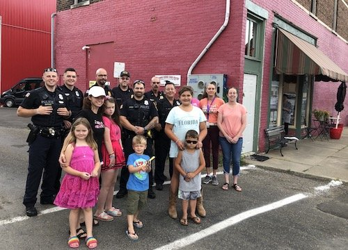 Waverly police kick off meet-and-greet events at The Red Door