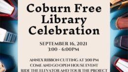Coburn Free Library celebrates accessibility