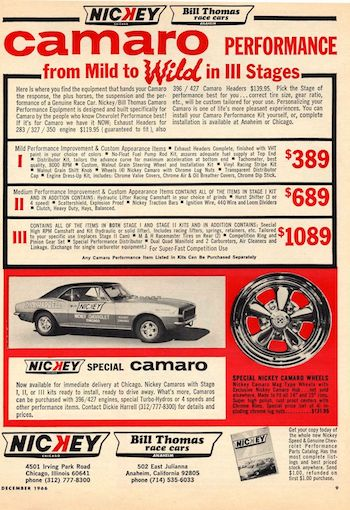 Cars We Remember - Aluminum head 68 Camaro SS; and more COPO memories