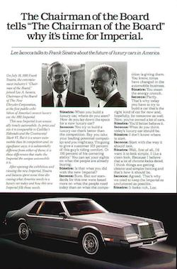 Cars We Remember; Chrysler Imperials: luxury, power and looks