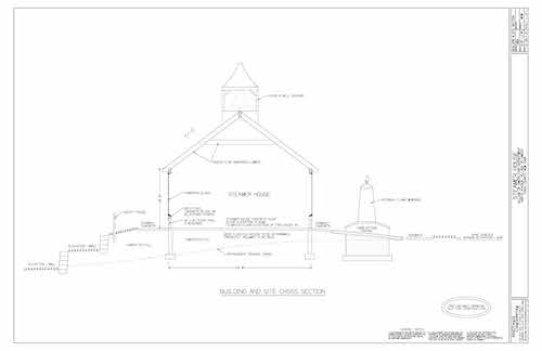 Steamer House Site Plans approved