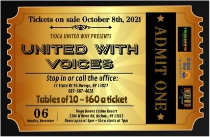 United with Voices tickets are on sale now!